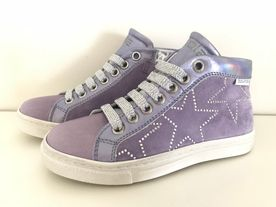 Girls Sneaker lila von Cole Counce Restore